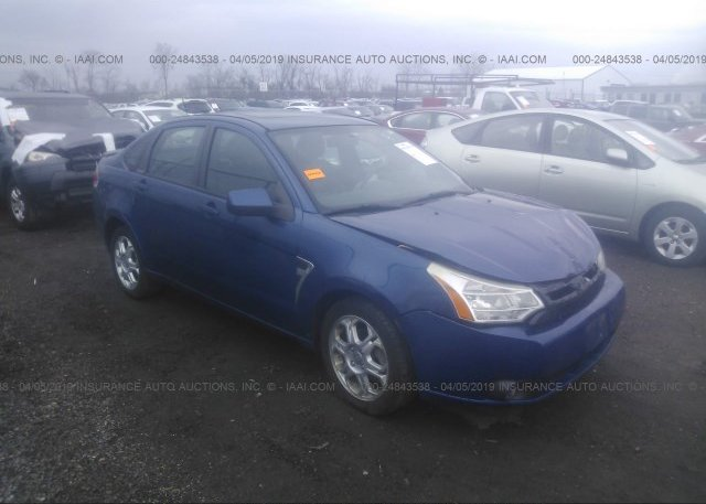 Inventory #118785728 2008 FORD FOCUS