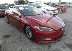 2017 Tesla MODEL S - 5YJSA1E28HF192416 Left View
