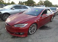 2017 Tesla MODEL S - 5YJSA1E28HF192416 Right View