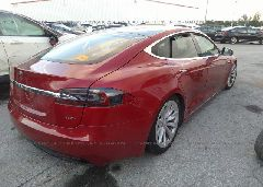 2017 Tesla MODEL S - 5YJSA1E28HF192416 rear view