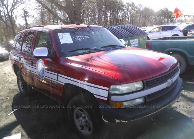 Inventory #314745049 2002 Chevrolet TAHOE