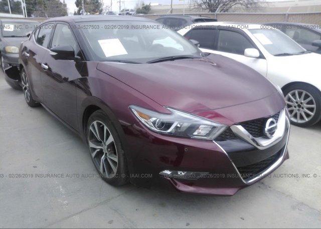 Inventory #845243625 2017 Nissan MAXIMA