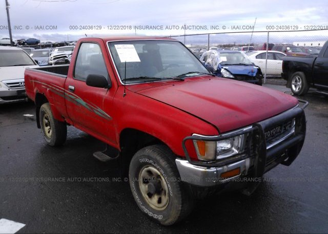 JT4RN93P8M5037456, Bill Of Sale red Toyota Pickup at TUKWILA