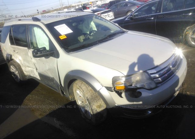1fmdk02w98ga11137 Salvage Silver Ford Taurus X At West Chester Oh
