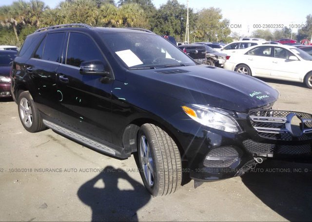 Inventory #876487025 2016 MERCEDES-BENZ GLE