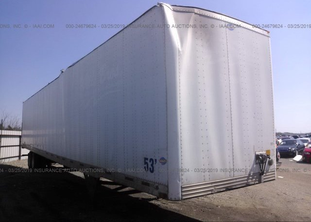 Inventory #905314622 2005 UTILITY TRAILER MFG VAN