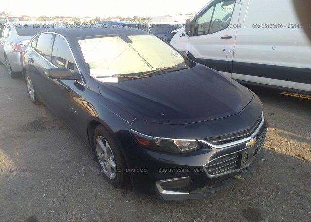Inventory #329408203 2016 Chevrolet MALIBU