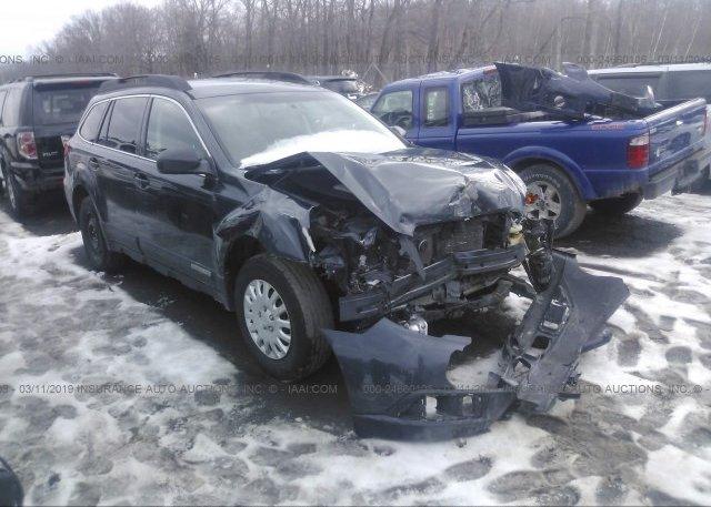 Inventory #573059947 2010 Subaru OUTBACK