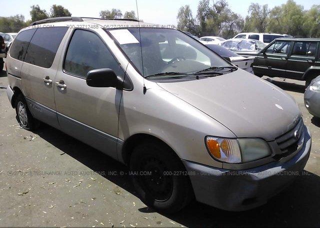 Inventory #343811314 2002 Toyota SIENNA