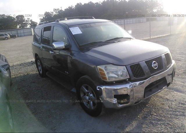 Inventory #425567678 2005 Nissan ARMADA