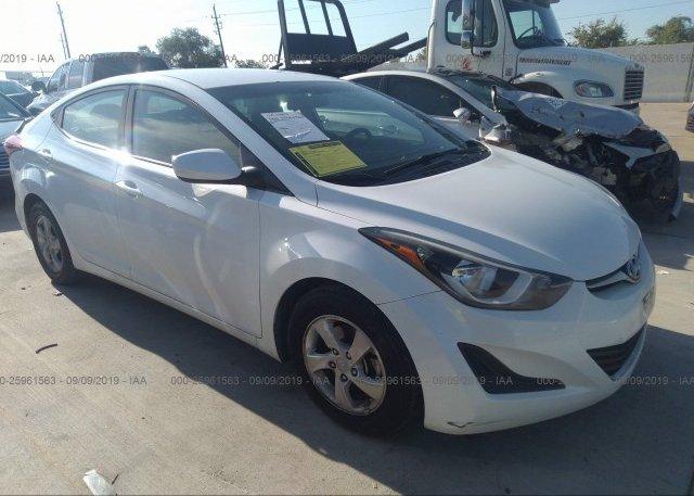 Inventory #603018903 2015 Hyundai ELANTRA