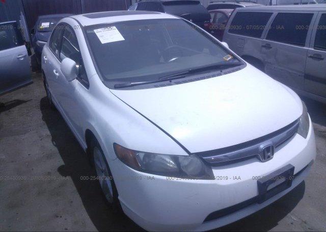 Honda North Hollywood >> 1hgfa16817l006684 Clear Dealer Only White Honda Civic At North