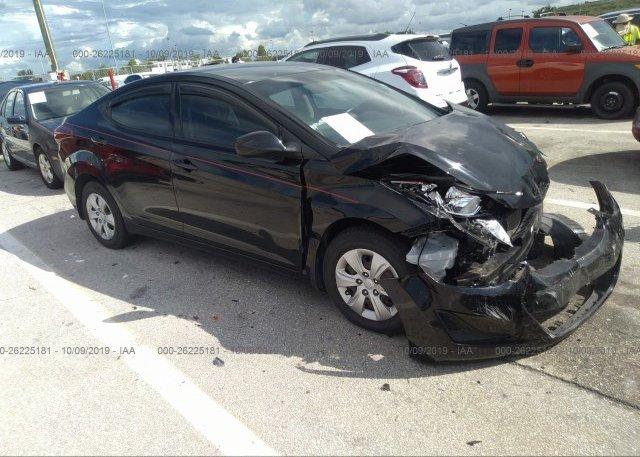Inventory #563182888 2016 Hyundai ELANTRA