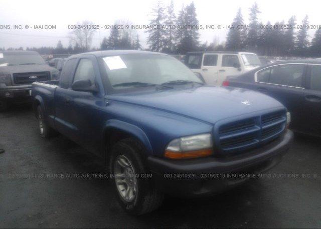 Inventory #729584694 2003 Dodge DAKOTA