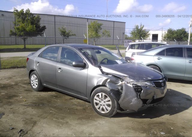 Kia Fort Pierce >> Knafu4a2xb5401354 Rebuildable Gray Kia Forte At Fort Pierce