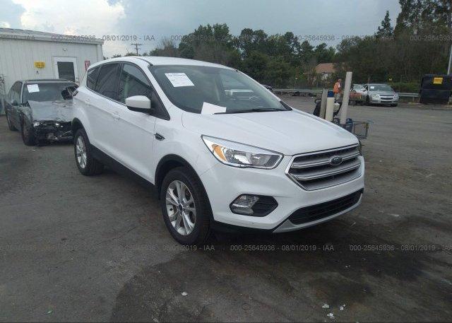 White Ford Escape >> 2017 Ford Escape