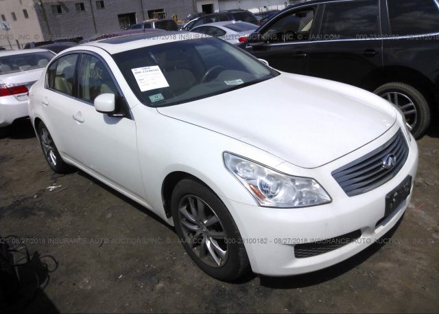 Jnkbv61f57m811679 Clear White Infiniti G35 At Shirley Ma On Online
