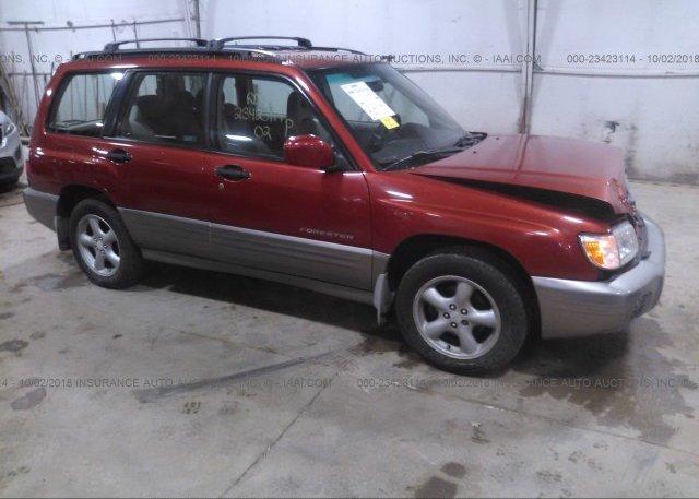 Inventory #679240753 2002 Subaru FORESTER
