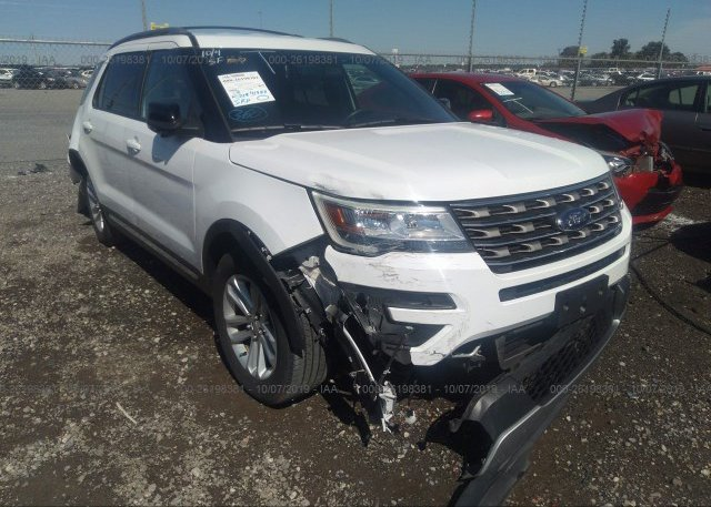 Inventory #758715626 2017 FORD EXPLORER