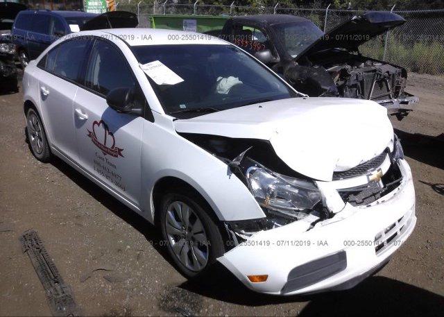 Inventory #210739265 2014 Chevrolet CRUZE
