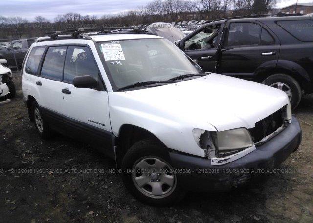 Inventory #868785575 2002 Subaru FORESTER