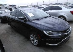 2015 Chrysler 200 2.4L, лот: i24740243
