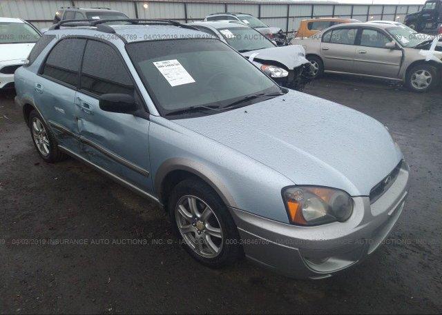 Inventory #424067538 2005 Subaru IMPREZA