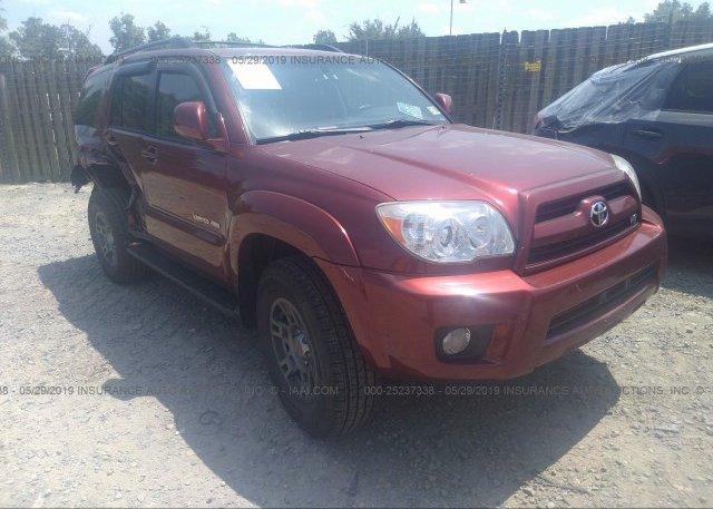 Inventory #805299302 2006 Toyota 4RUNNER