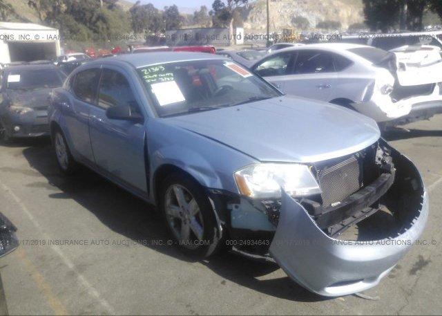 Inventory #942419847 2013 Dodge AVENGER