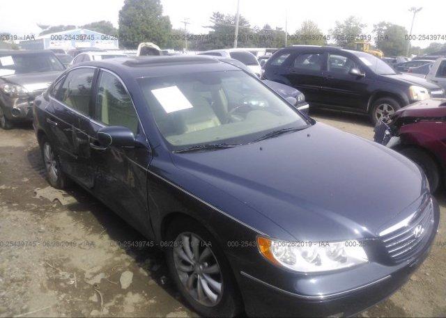 Inventory #774624099 2006 Hyundai AZERA