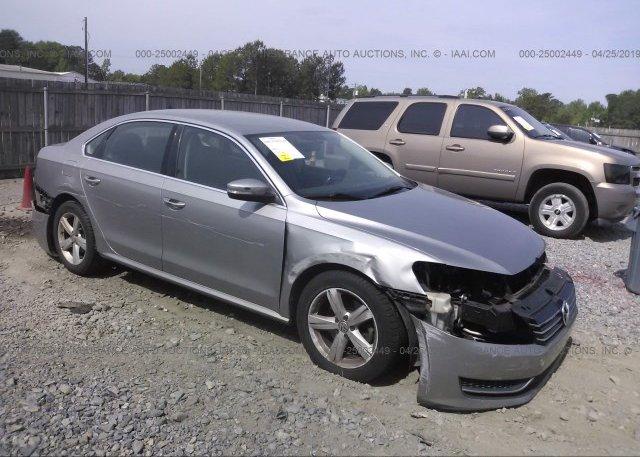 Inventory #744868008 2013 Volkswagen PASSAT