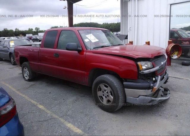 Inventory #149748089 2005 Chevrolet SILVERADO