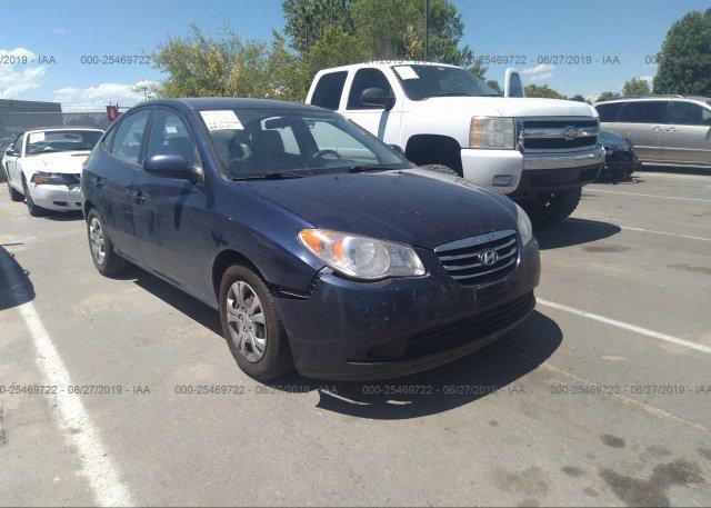 Inventory #723690606 2010 Hyundai ELANTRA