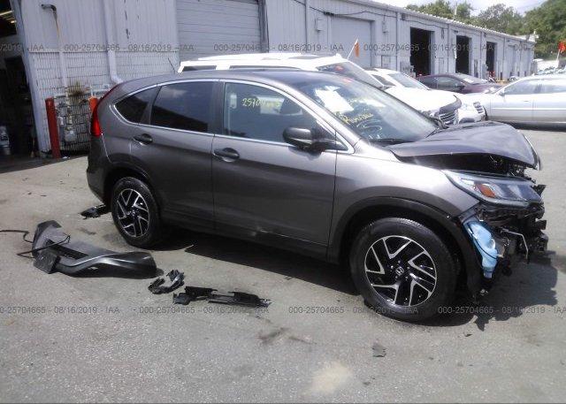 Inventory #887892647 2016 Honda CR-V