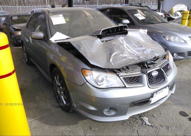Inventory #177847331 2007 Subaru IMPREZA