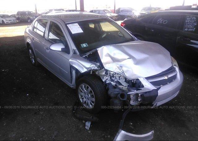 1g1ad5f58a7216138 Salvage Gray Chevrolet Cobalt At Phoenix Az On