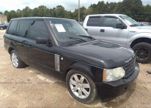 Inventory #687387019 2007 Land Rover RANGE ROVER