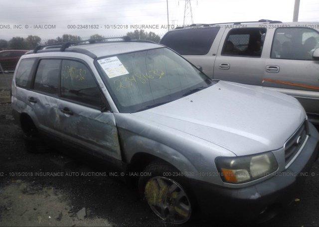 Inventory #955892275 2005 Subaru FORESTER