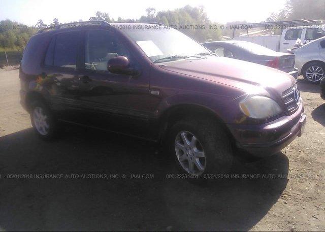 Inventory #123353257 1999 Mercedes-benz ML