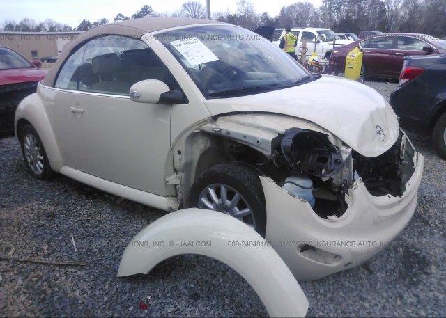 Inventory #829525190 2005 Volkswagen NEW BEETLE