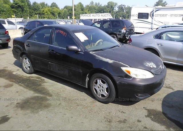 Inventory #661200375 2002 Toyota CAMRY
