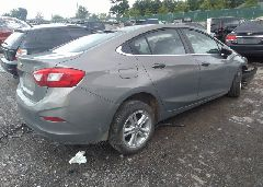 2017 Chevrolet CRUZE - 1G1BE5SM8H7135648 rear view