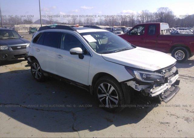 Inventory #998537072 2018 Subaru OUTBACK
