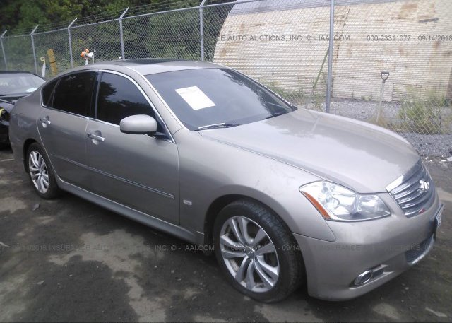 Jnkby01f18m550427 Salvage Greater Than 75 Gold Infiniti M45 At