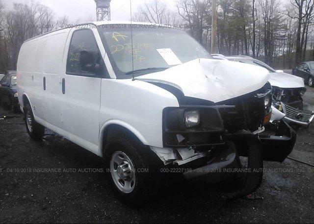 Inventory #573004120 2011 Chevrolet EXPRESS G2500