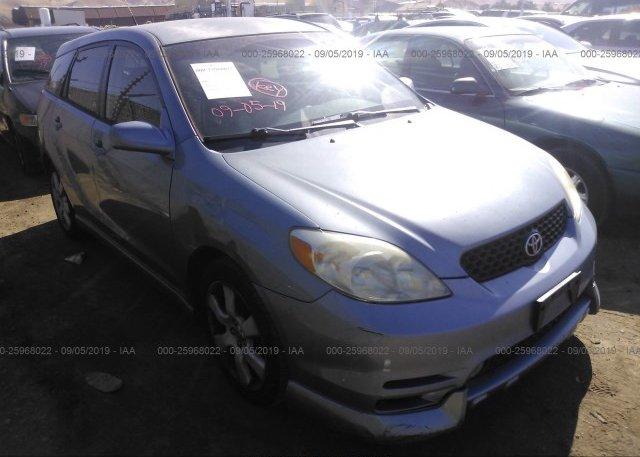 Inventory #706152409 2003 Toyota COROLLA MATRIX