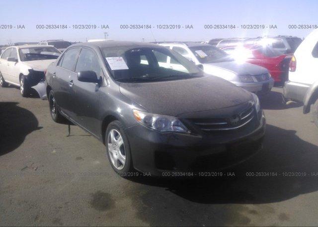 Inventory #921027798 2013 Toyota COROLLA