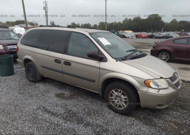 Inventory #563257877 2005 Dodge GRAND CARAVAN