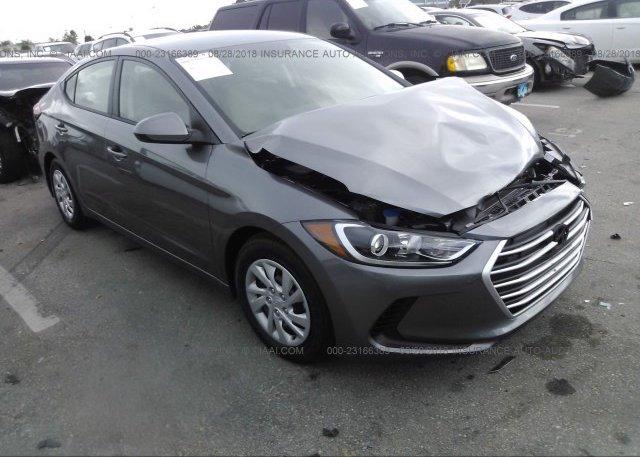 Inventory #233382426 2018 Hyundai ELANTRA