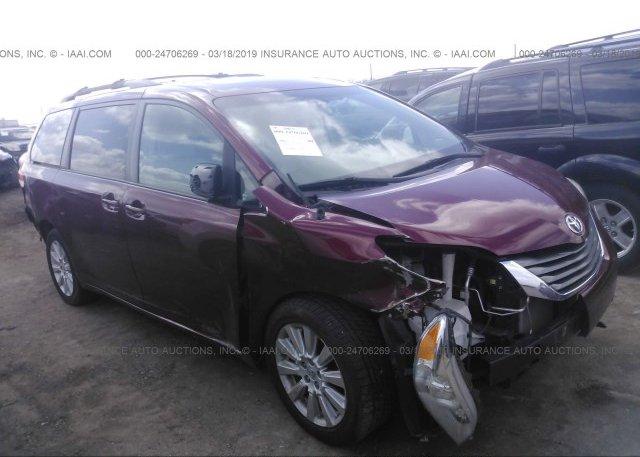 Inventory #115445461 2012 Toyota SIENNA